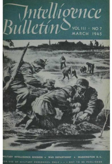 United States. War Department - 1945-03 Intelligence Bulletin Vol 03 No 07