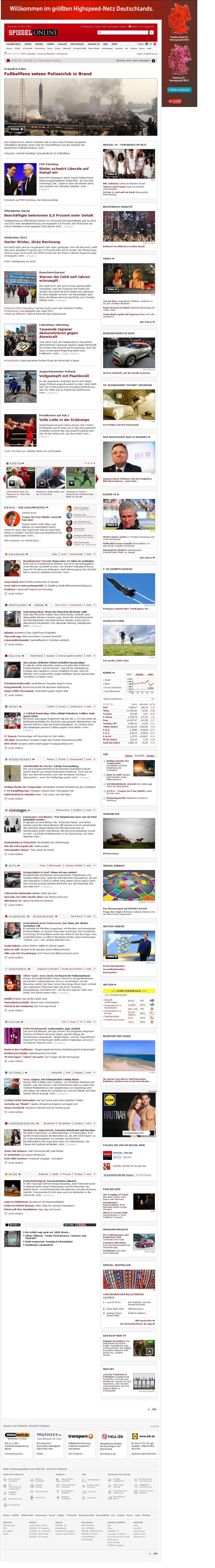 Spiegel Online at Saturday March 9, 2013, 2:19 p.m. UTC