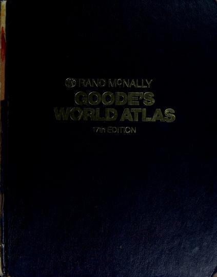 Goode's world atlas (Goode's World Atlas) by J. Paul Goode
