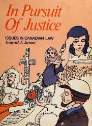 Cover of: In pursuit of justice | Frederick E. Jarman