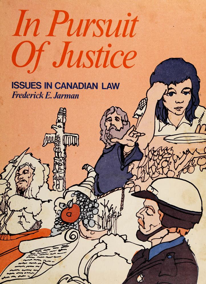 In pursuit of justice by Frederick E. Jarman