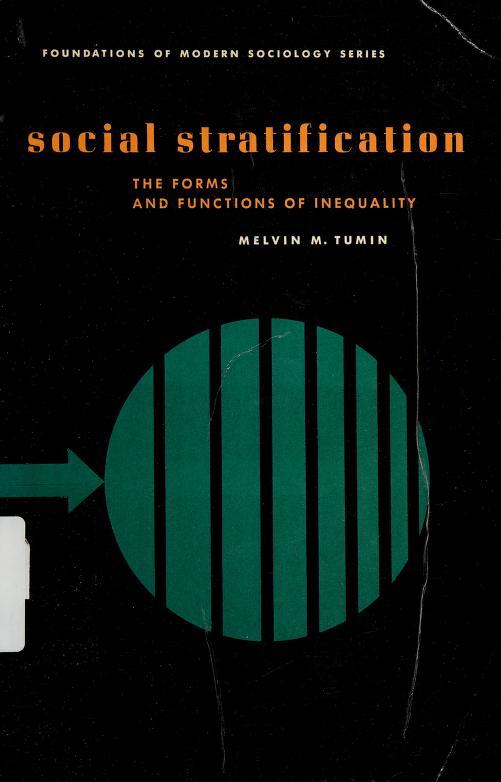 Social stratification by Melvin Marvin Tumin