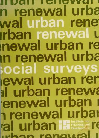 Cover of: Urban renewal | Dan Soen